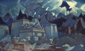 "Nicholas Roerich, ""The Destruction of Atlantis,"" 1928-29"