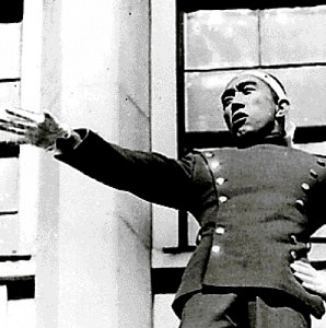 November 25, 1970: Mishima addresses Japanese soldiers before  committing ritual suicide