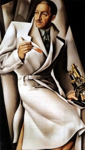 "Tamara de Lempicka, ""Portrait of Dr. ,"""