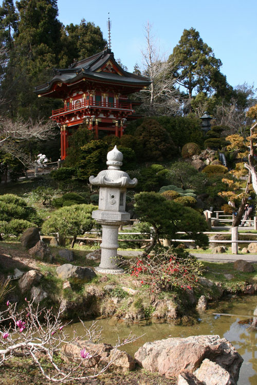 Evola on zen and everyday life counter currents publishing for Golden gate park japanese garden