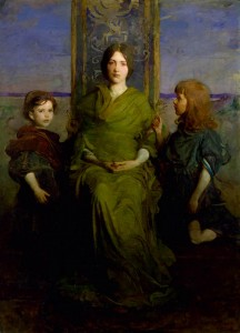 Abbott Handerson Thayer, Virgin Enthroned, 1891