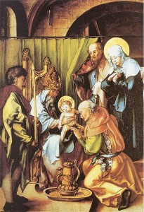 "Albrecht Durer, ""The Circumcision of Christ"""