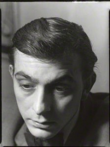 Bill Hopkins, photographed by Ida Kar, 1955