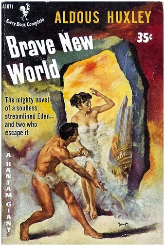 brave new world dystopia thesis Huxley's dystopian vision was not one of particularistic violence and want, but of peace and plenty brave new world speaks much more to our current state of affairs.