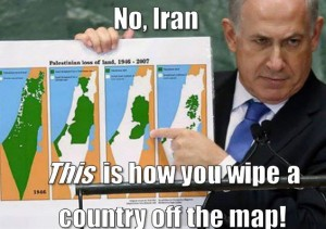 No, Iran. THIS is how you wipe a country off the map.