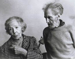 Olga Rudge and Ezra Pound