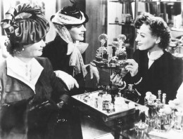 L. to R., Phyllis Povah, Rosalind Russell, and Joan Crawford