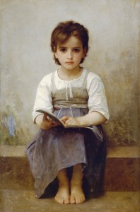 "William-Adolphe Bouguereau, ""The Difficult Lesson,"" 1884"