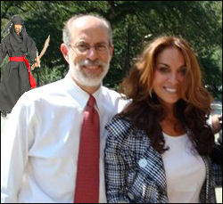 Frank Gaffney and Pamela Geller. Gaffney is one of the chief architects of the U.S. war in the Middle East. Pamela Geller is the figurehead of the Counter Jihad movement. She became world famous as leader of the resistance against the construction of a mosque at Ground Zero in New York.