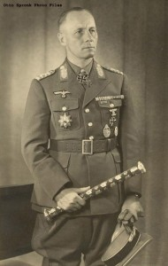 The Desert Fox: Field Marshal Erwin Rommel with baton