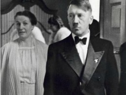 A night at the opera: Adolf Hitler with Winifred Wagner, the daughter-in-law of Richard Wagner