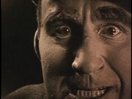 Hollywood's image of fatherhood, 1919: Evil racist Donald Crisp murders his own daughter.