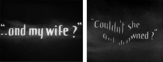 Intertitles from Sunrise