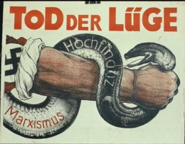 "NSDAP Election Poster: ""Death to Lies: Marxism, High Finance"""