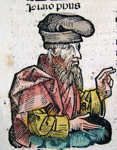 Plato in Nuremberg Chronicle