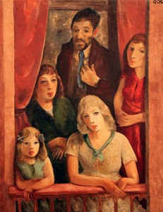 "B.J.O. Nordfeldt, ""D. H. Lawrence and the Three Fates"""