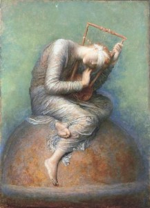 "George Frederick Watts, ""Hope"""