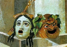 Roman masks, Baths of Decius, Rome, 2nd century CE