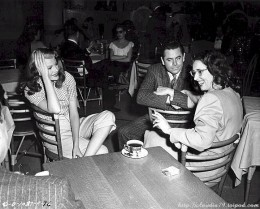 Virginia Van Upp, R., with Rita Hayworth and Glenn Ford