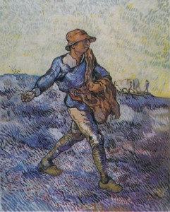 "Vincent Van Gogh, ""The Sower (after Millet),"" 1889"