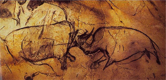 Classic Man Cave Painting : Collin cleary quot the stones cry out cave art and