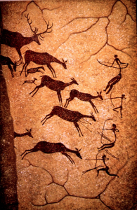 Example of North American rock art