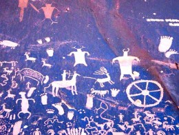 Second example of North American rock art