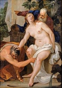 "Antonio Bellucci, ""Susanna Assaulted by the Elders"""