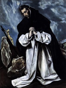 St Dominic in Prayer El Greco