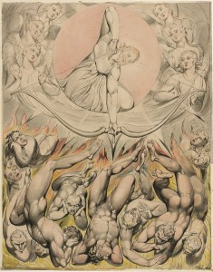 "William Blake, ""The Casting of the Rebel Angels into Hell,"" 1808"