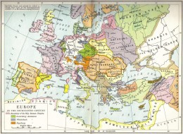 Before departure: Europe on the eve of expansion (14th century). Click to enlarge.