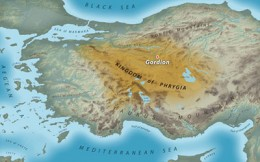 Phyrgia was a satrapy of the Persian Empire when Alexander invaded Anatolia.