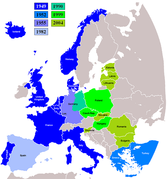 Eastward expansion of NATO (military)
