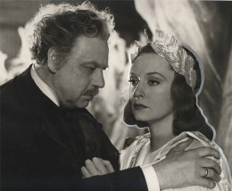 Leo Slezak as Rohrmoser, with Zarah Leander dressed as Orpheus