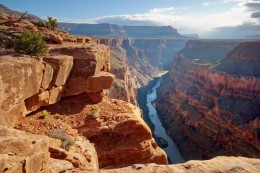 The Grand Canyon: proof that great changes can be wrought over long times by gentle, sustained force