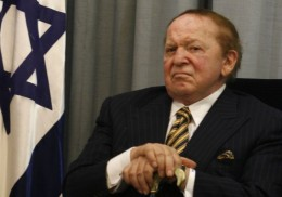 Billionaire oligarch Sheldon Adelson wants open borders for America, secure borders for Israel.