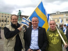 In a country where Israel is widely unpopular in the political mainstream, the Sweden Democrats cleverly co-opt themselves in search of what? Credibility?