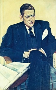 Wyndham Lewis, Portrait of T. S. Eliot