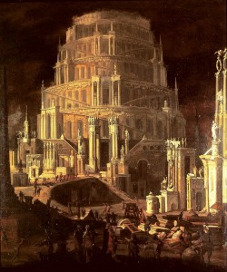 François di Nomé, The Tower of Babel