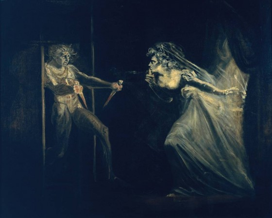 Henry Fuseli, Lady Macbeth Seizing the Daggers, 1812