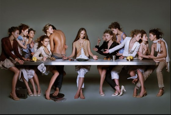 The Last Supper of House of Girbaud