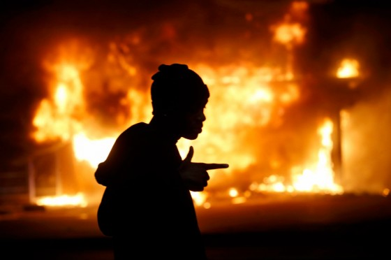 No joy in Mudville: Ferguson after dark