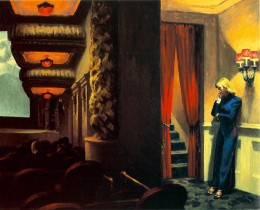Edward Hopper, New York Theater,