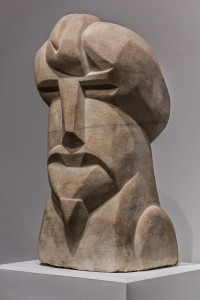 Hieratic Head of Ezra Pound by Henri Gaudier-Brzeska