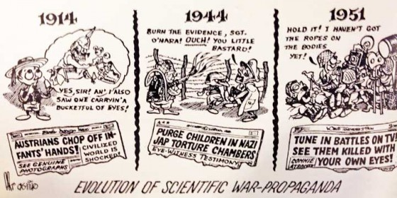 'HISTORICAL REVISIONISM' CARTOONS In Doubt—the Fortean Society Magazine, 1951