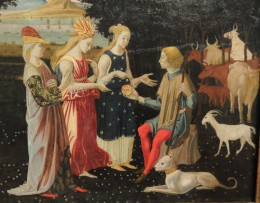 The Judgment of Paris by the Master of the Argonaut Panels, c. 1480,
