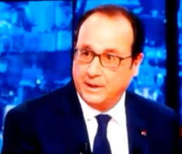 "Hollande: ""We must respect what happened [to the Jews]."""
