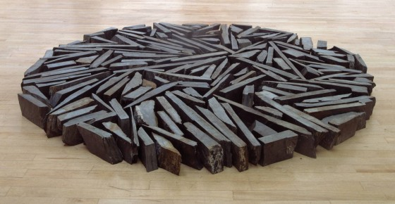 Richard Long, South Bank Circle, 1991