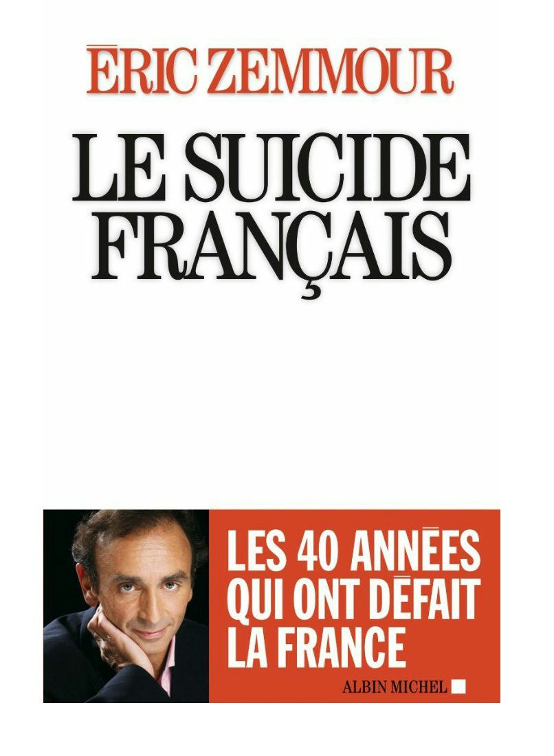 Image result for Zemmour Le suicide de la France