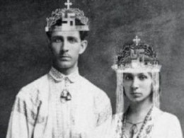Corneliu Codreanu with his wife, Elena Ilinoiu